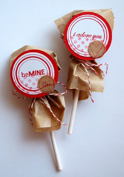 ポップキャンディを包むだけ! image credit
