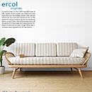 英国家具 輸入家具 ウッドフレームの3Pソファ 美しいデザインのカウチソファ イギリス アーコール 355スタジオカウチ 355 studio couch